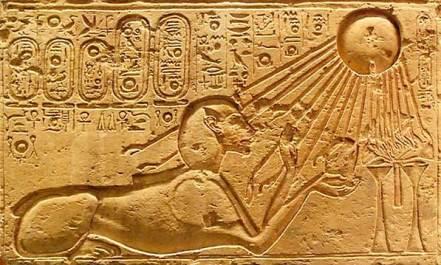 La Glándula Pineal... - Página 2 Akhenaten-sungazing