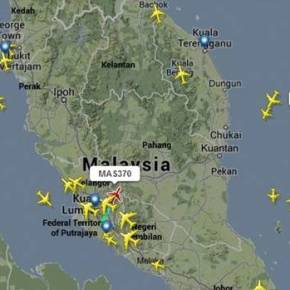 """La conspiración detrás del """"desaparecido"""" vuelo de MalaysianAirlines"""